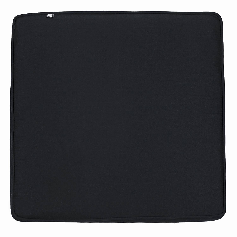 Kopu® Prisma Loungekussen Zit 60x60 cm Black