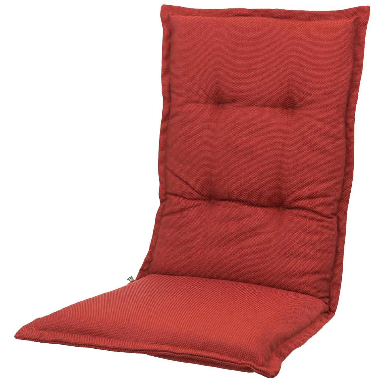 Kopu® Manchester Tuinkussen Hoge Rug Red