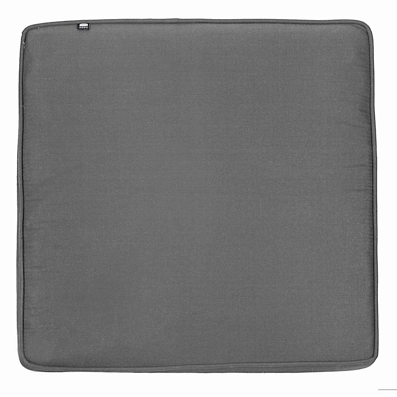 Kopu - Prisma Loungekussen Zit 60x60 cm - Mouse Grey