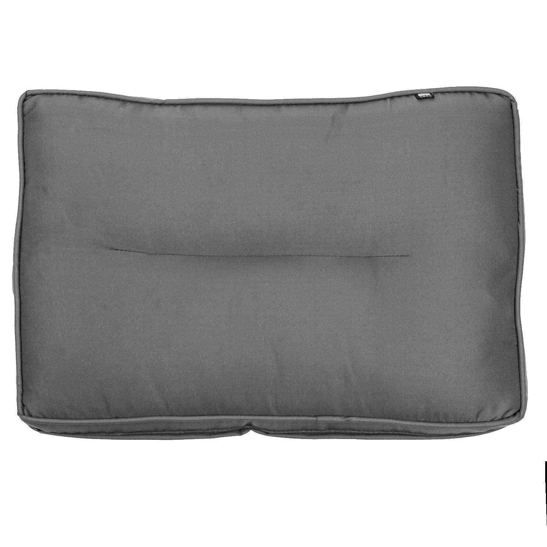 Kopu - Prisma Loungekussen Rug 60x40 cm - Mouse Grey