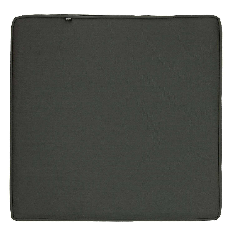 Kopu® Prisma Loungekussen Zit 60x60 cm Grey