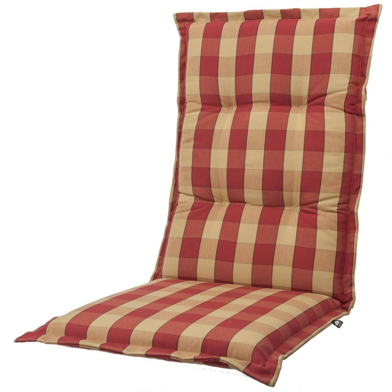 Kopu® Country Tuinkussen Hoge Rug Red