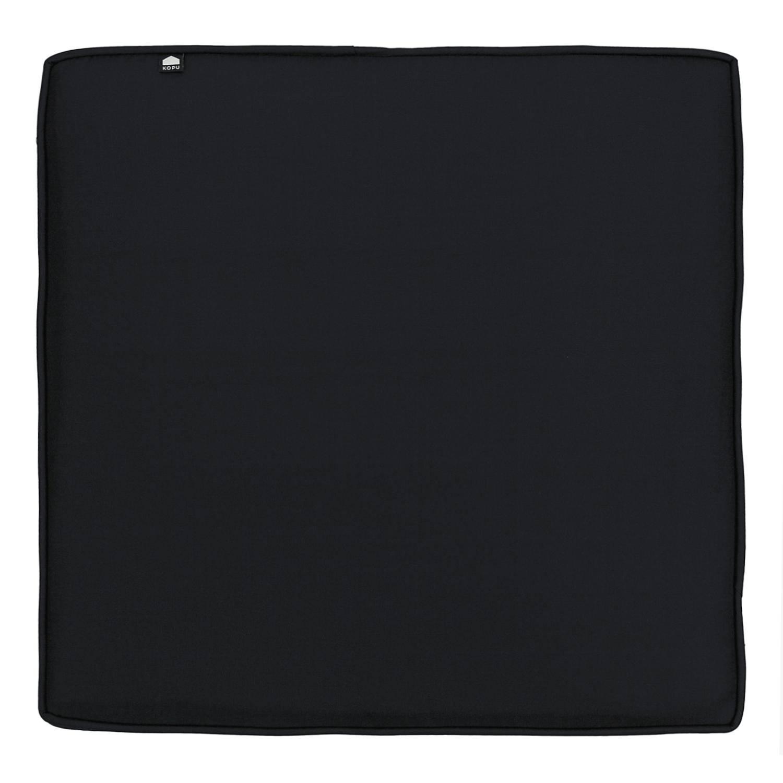 Kopu - Geo Loungekussen Zit 60x60 cm - Black