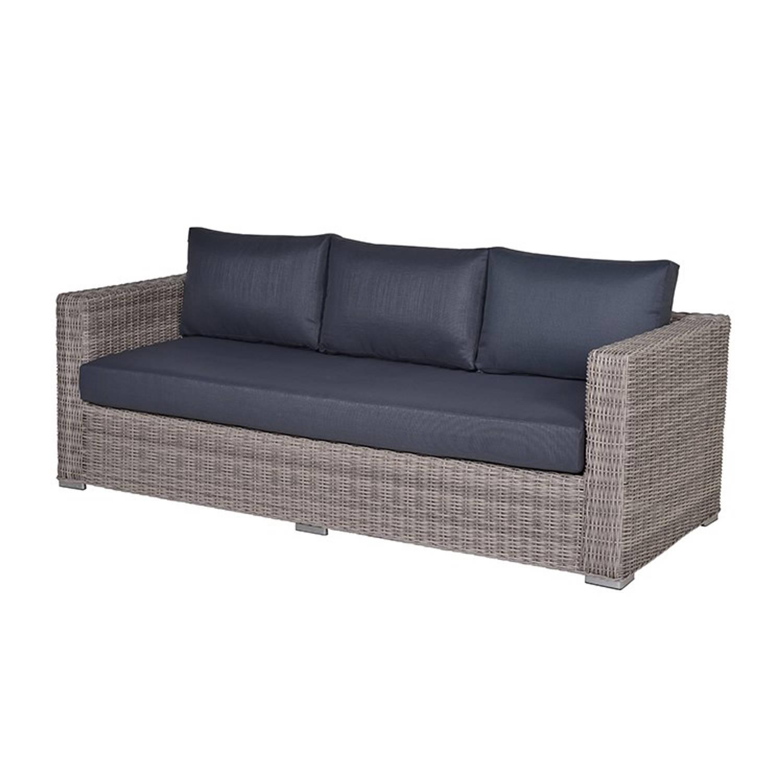 Garden Impressions Tennessee lounge bank L225 cm grijs