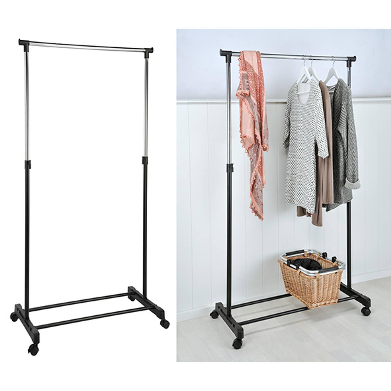 Haushalt 40538 - Mobiel kledingrek - 84 x 41,5 cm