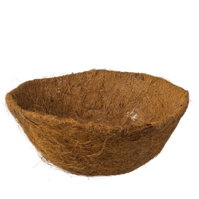 Nature 3 Stuks Kokosinlegvel Voor Hanging Basket Voorgevormd Met Waterkering Dia. 35cm
