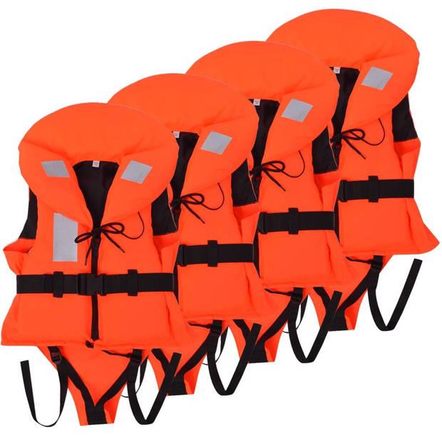 vidaXL Kinderzwemvesten 100 N 20-30 kg 4 stuks