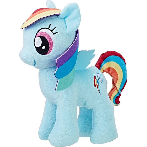 Hasbro knuffel My Little Pony Rainbow Dash 25 cm blauw
