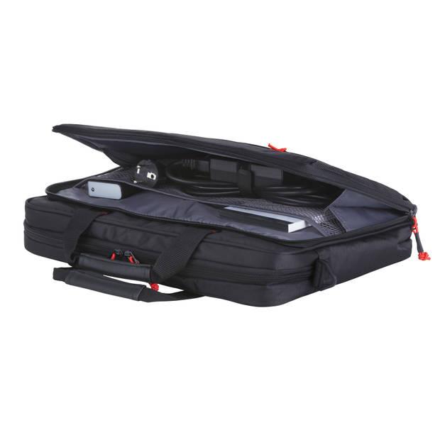 """TravelZ Laptoptas 17 inch Sportieve Lichtgewicht 17.3"""" Computertas Waterafstotend Zwart"""