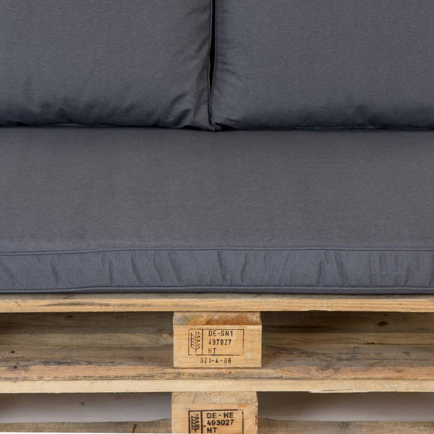 Madison Rugkussen Lounge Panama Grijs - 60x40cm