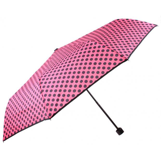 Perletti paraplu stippen 97 cm roze