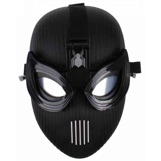 Hasbro Spider-Man movie toekomst masker junior 24 cm zwart