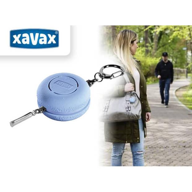 "Xavax Mobiele Alarmsirene ""Macaron"" / met sleutelhanger / blauw"