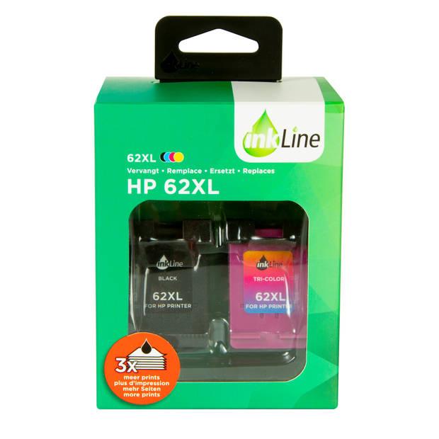 Inkline Hp 62xl (2-pack)