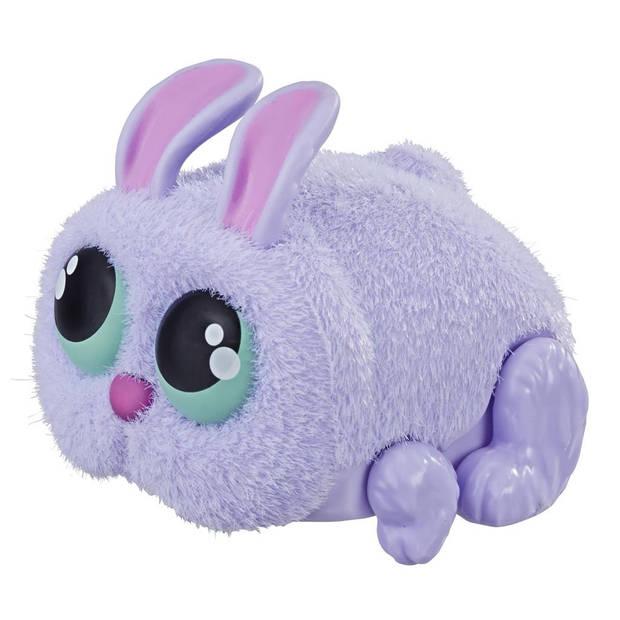 Hasbro speelfiguur Yellies Fluffertail 6,5 cm paars