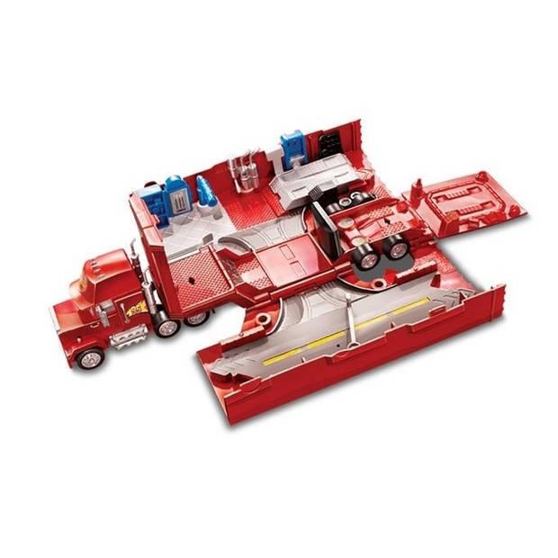 Disney Cars - Mack Hauler autotransporter rood