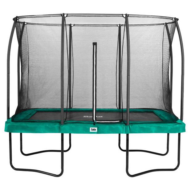 Trampoline - Salta Comfort Edition - 214 x 305 cm - Groen