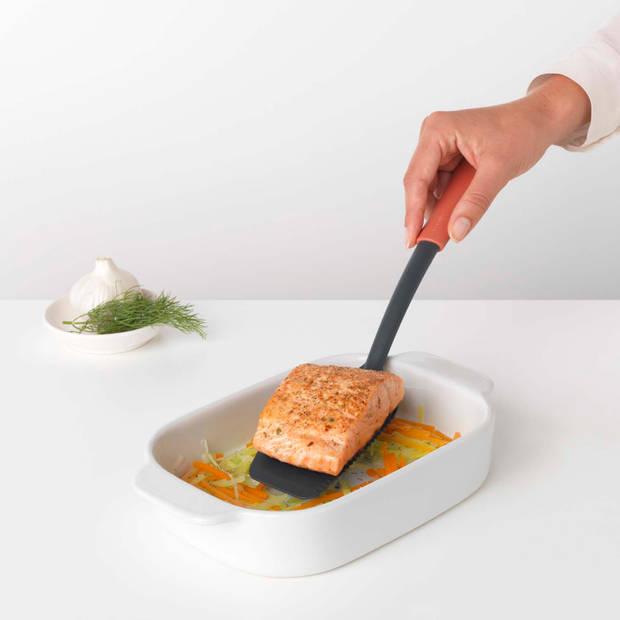 Brabantia Tasty+ bakspaan plus snijrand - Terracotta Pink