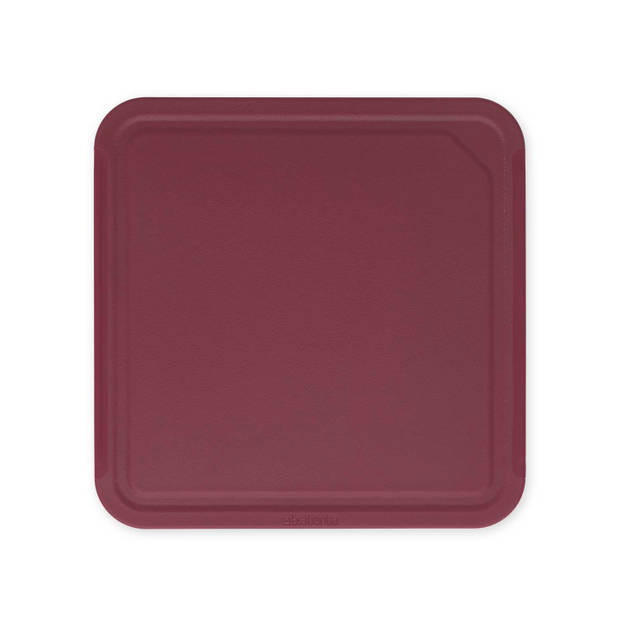 Brabantia Tasty+ snijplank M - Aubergine Red