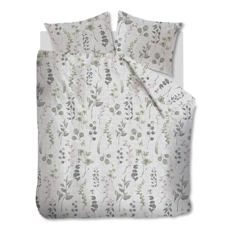 Afbeelding van Ariadne at Home Blooms dekbedovertrek - 100% katoen - Lits-jumeaux (240x200/220 cm + 2 slopen) - Natural