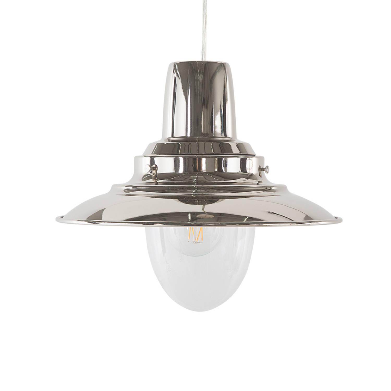 Korting Beliani Pinega Hanglamp Metaal 29 X 29 Cm