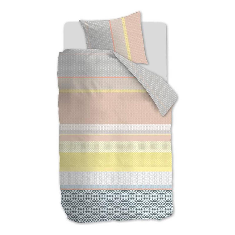 Beddinghouse Dolly dekbedovertrek - 100% katoen - 1-persoons (140x200/220 cm + 1 sloop) - Yellow