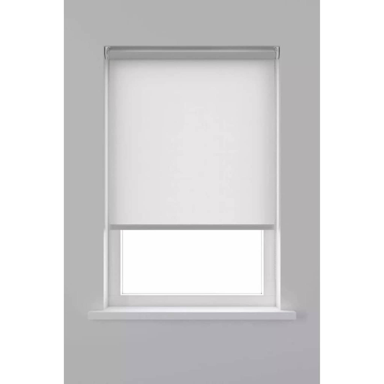 Decosol Rolgordijn Lichtdoorlatend Wit 190 x 90 cm