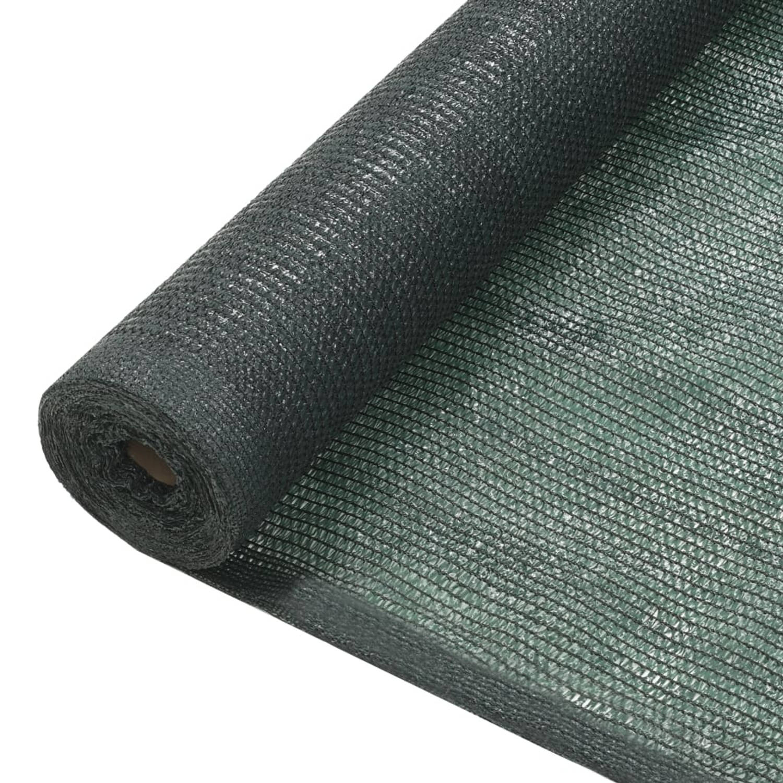 vidaXL Privacynet 2x10 m HDPE groen