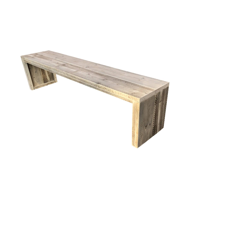 Wood4you - Tuinbank Amsterdam Steigerhout 150lx43hx38d Cm