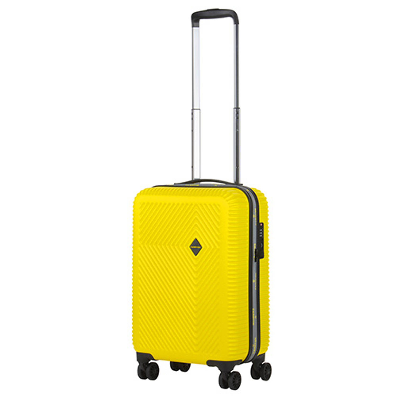 Korting Carryon Connect Tsa Handbagagekoffer Usb Handbagage 55cm Okoban Geel