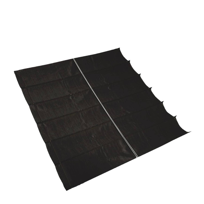 Harmonica Schaduwdoek B 20m L 50m Zwart