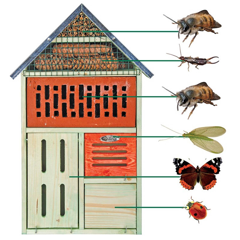 Insectenhotel Met Steen Xl