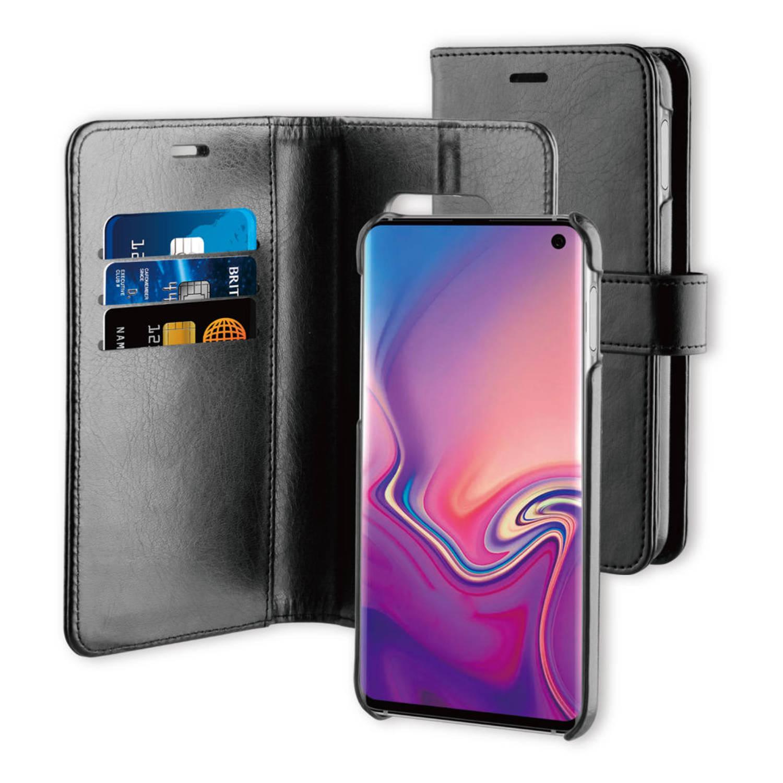 BeHello Samsung Galaxy S10E 2-in-1 Wallet Case Zwart