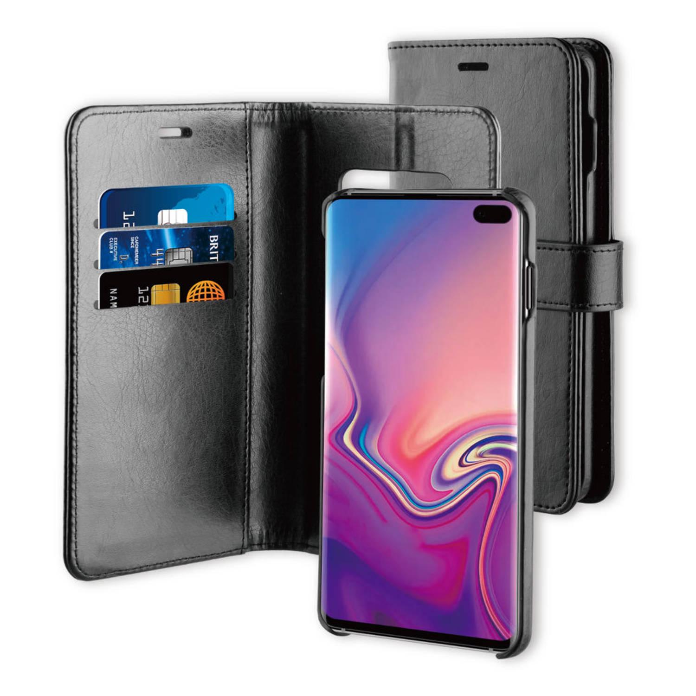 BeHello Samsung Galaxy S10+ 2-in-1 Wallet Case Zwart