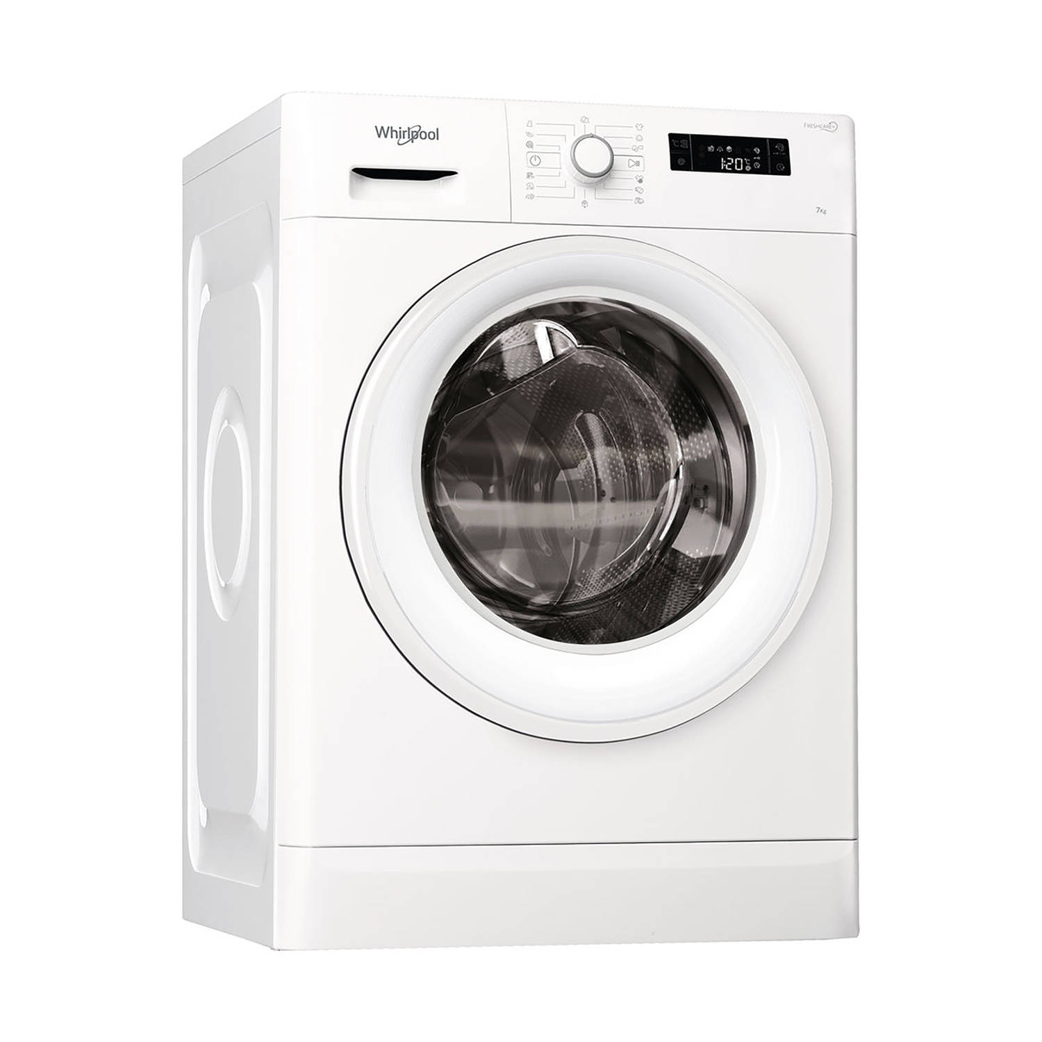 Whirlpool FWF71683WE EU wasmachines - Wit