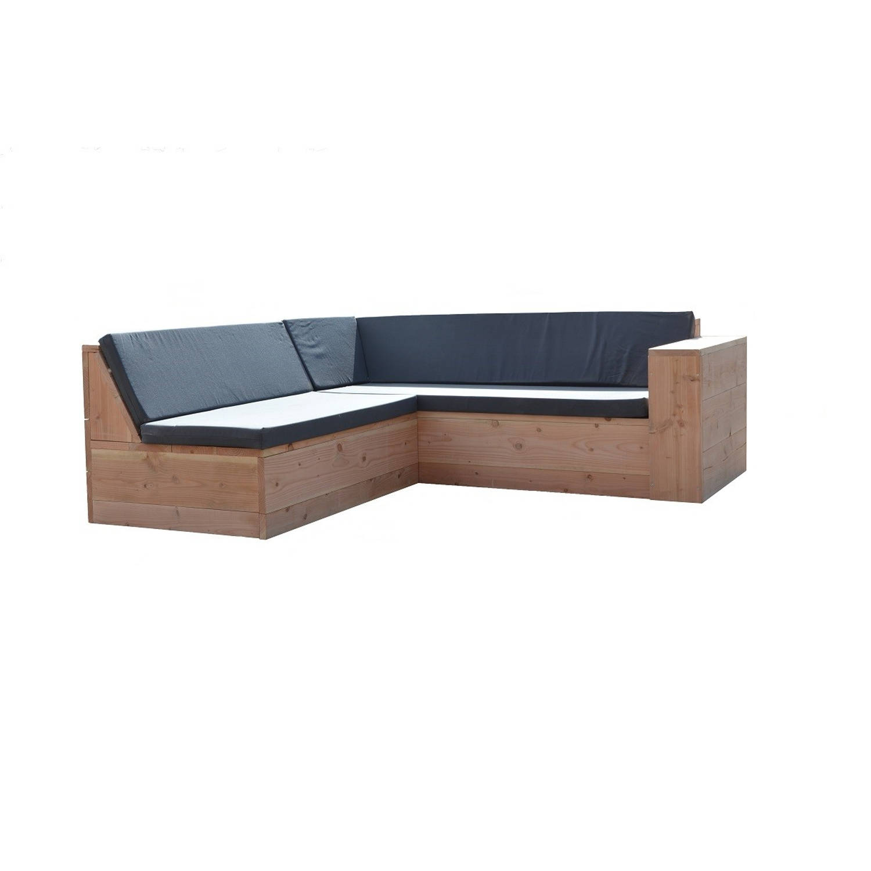 Wood4you - Loungeset 1 Douglas 200x200 Cm - Incl Kussens