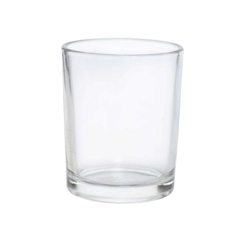 Theelichthouder Glas 5x6.5cm