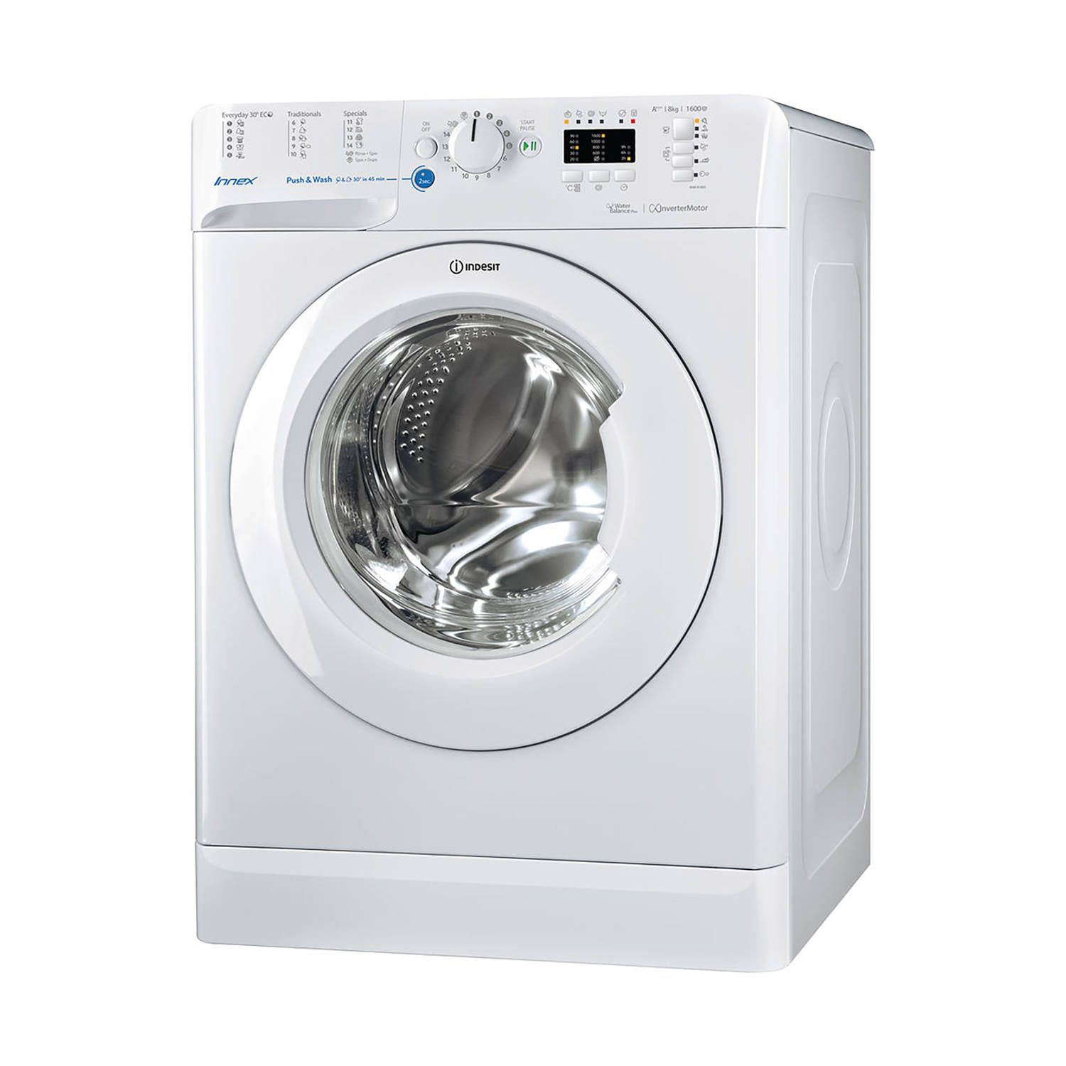 Indesit BWA 81683X W EU wasmachines - Wit