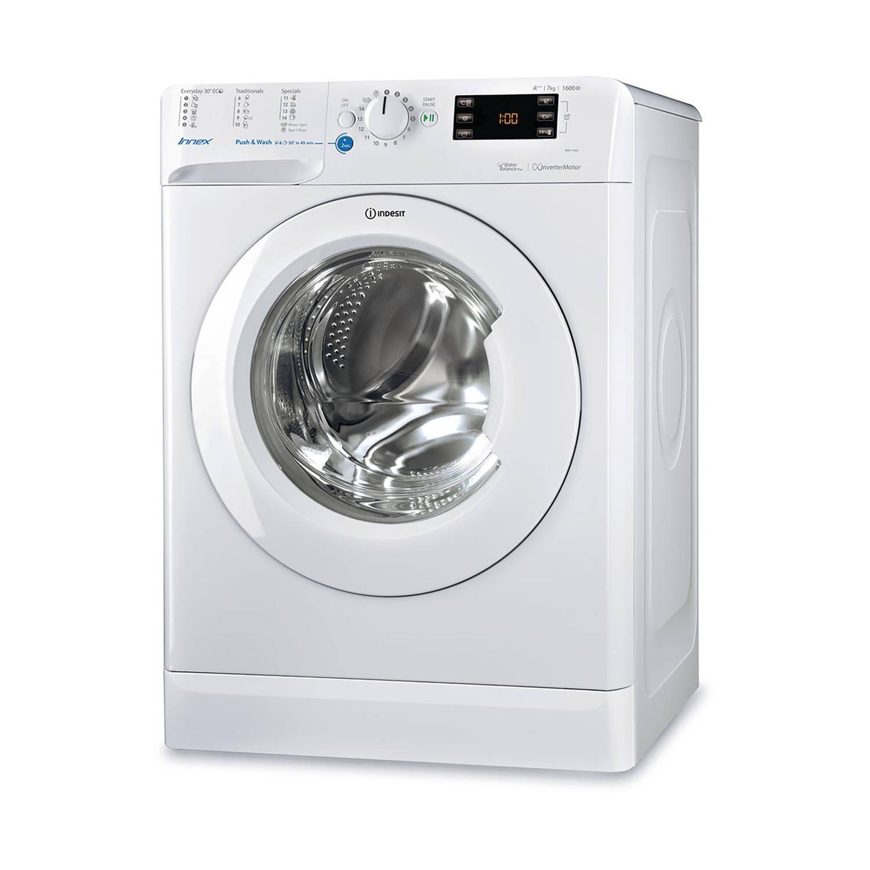 Indesit BWE 71683X W EU wasmachines - Wit