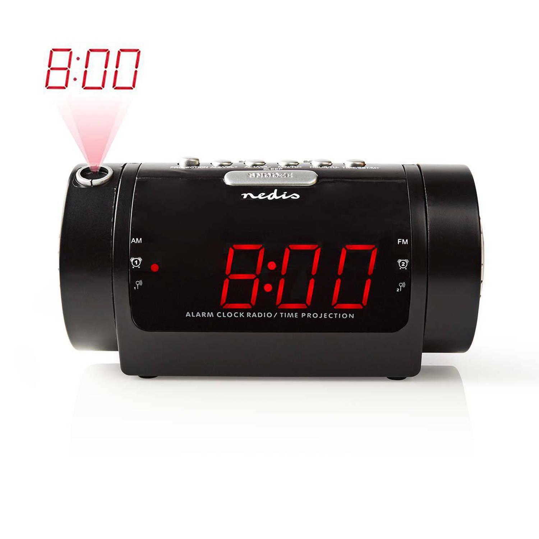 Digitale Wekkerradio met Display LED van 0,9 FM Dubbel alarm Sluimeren