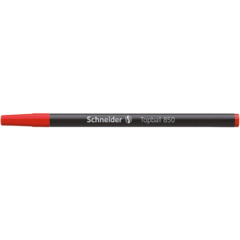 Korting Rollerrefill Schneider Topball 850 Rood