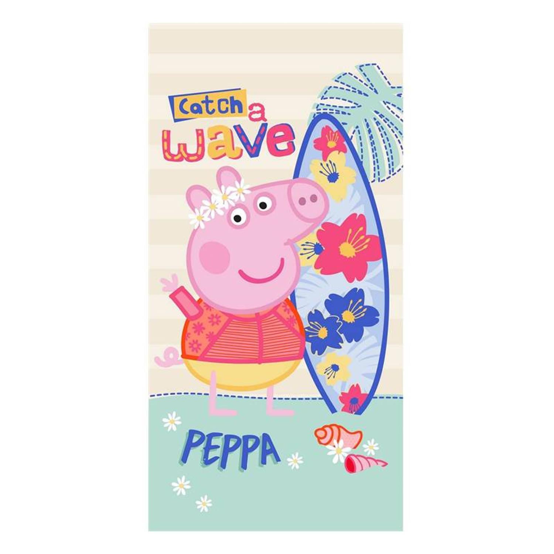 Peppa Pig strandlaken 100 katoen 70x140 cm Multi