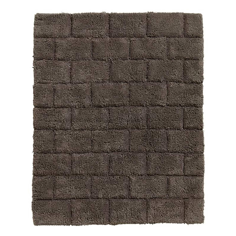 Korting Seahorse Metro Badmat 100 procent Katoen Badmat (50x60 Cm) Basalt