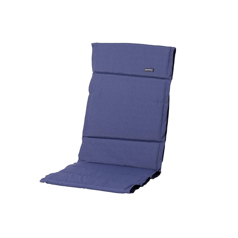 Madison Tuinstoelkussen Fiber 50x123 Cm Panama Safier Blue