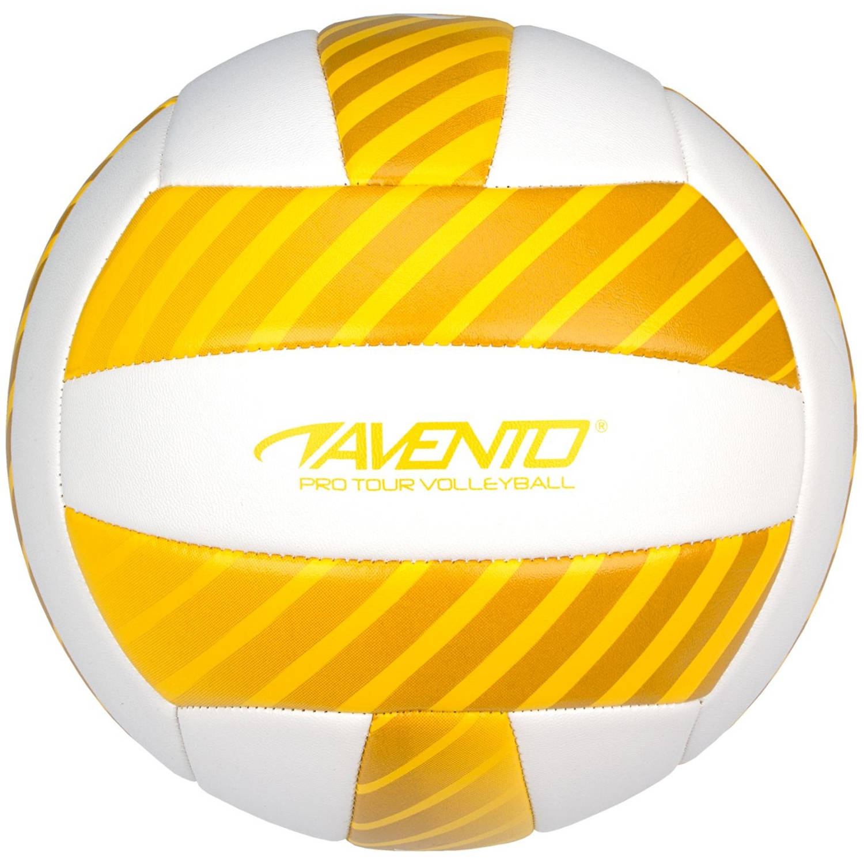 Afbeelding van Avento beachvolleybal kunstleer maat 5 wit/geel