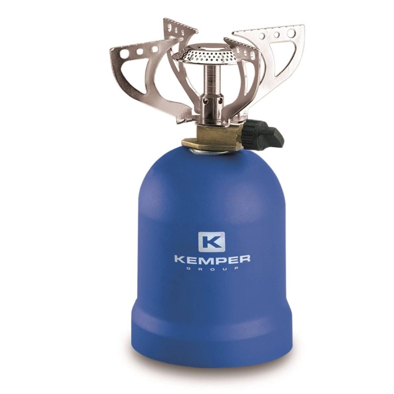 Kemper gasbrander kooktoestel 1200 Watt blauw