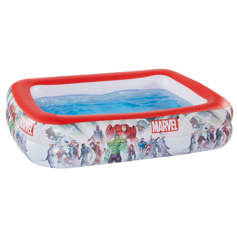 Happy People opblaaszwembad Marvel 200 x 150 x 100 cm wit