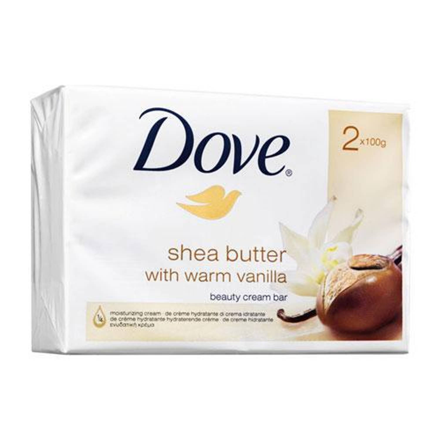 Dove Shea Butter Wastablet 2x100g