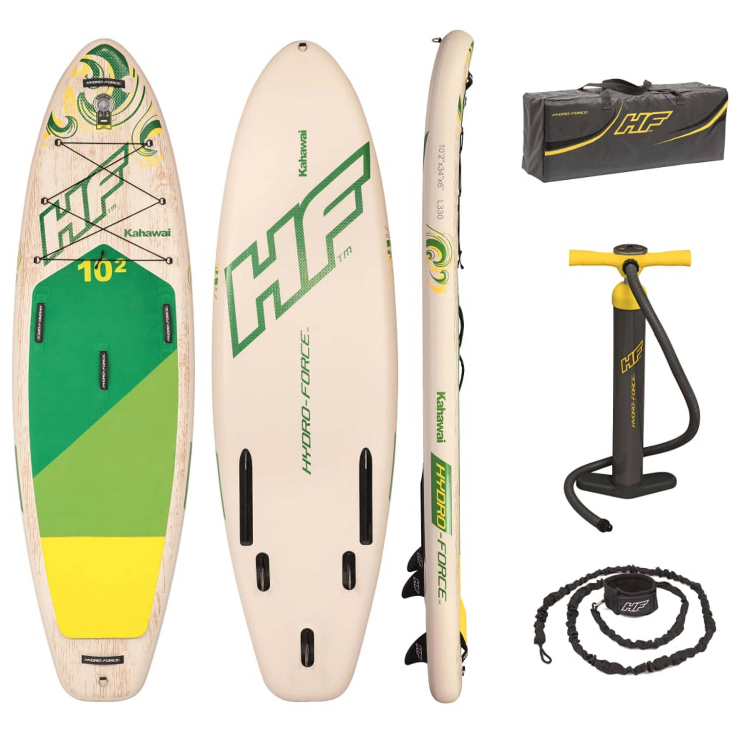 Bestway Paddle boardset opblaasbaar Hydro-Force Kahawai 65308
