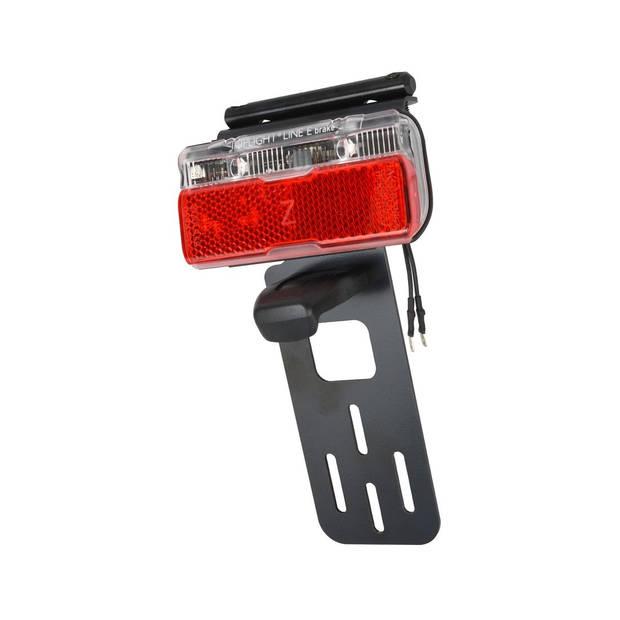 Busch + Müller achterlicht met kentekenplaathouder e-bike